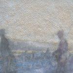 """""""Contadini del mare"""" 1, Papier, Pigmente, 32,5 x 42,5 cm, 2009"""