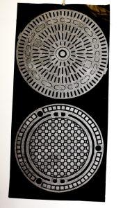cinefoil perforated, div. diameter