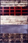 O.T., Graphit, Pigmente, Wachs auf Pappe u. auf Holz, 60 x 80 cm