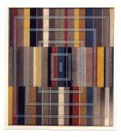 O.T., Baustoffe auf Papier u. Holz, 83 x 94 cm
