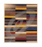 O.T., Baustoffe auf Papier u. Holz, 93 x 109 cm